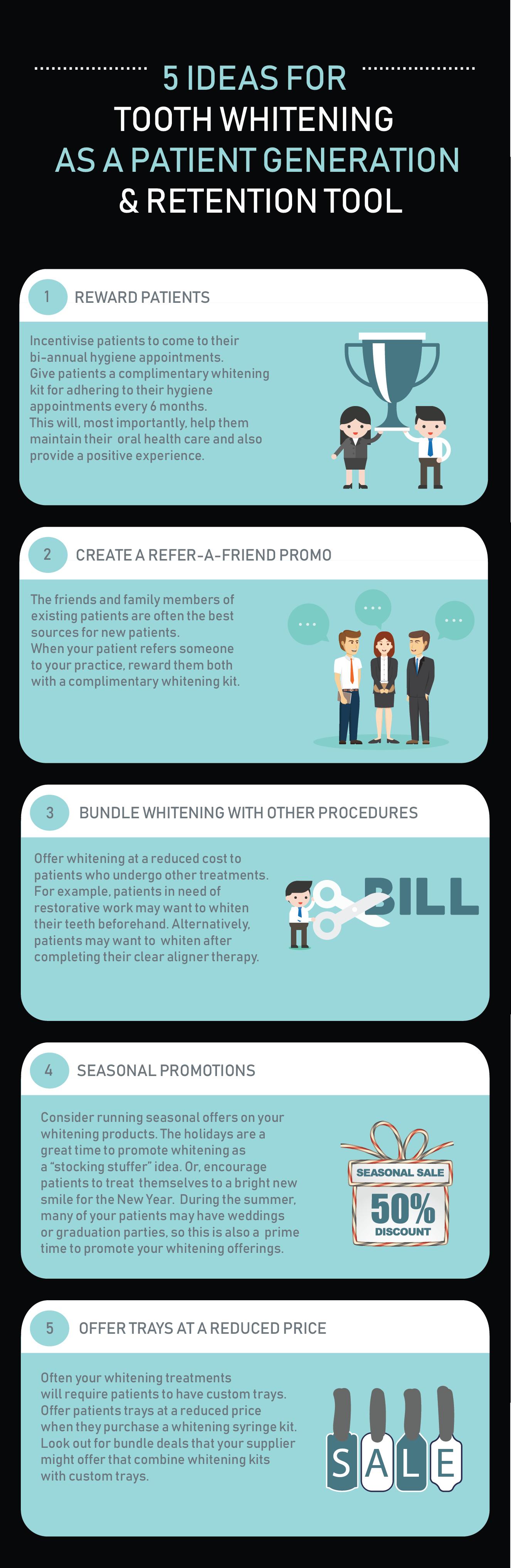 WDB Infographic - 5 ideas for patient retention
