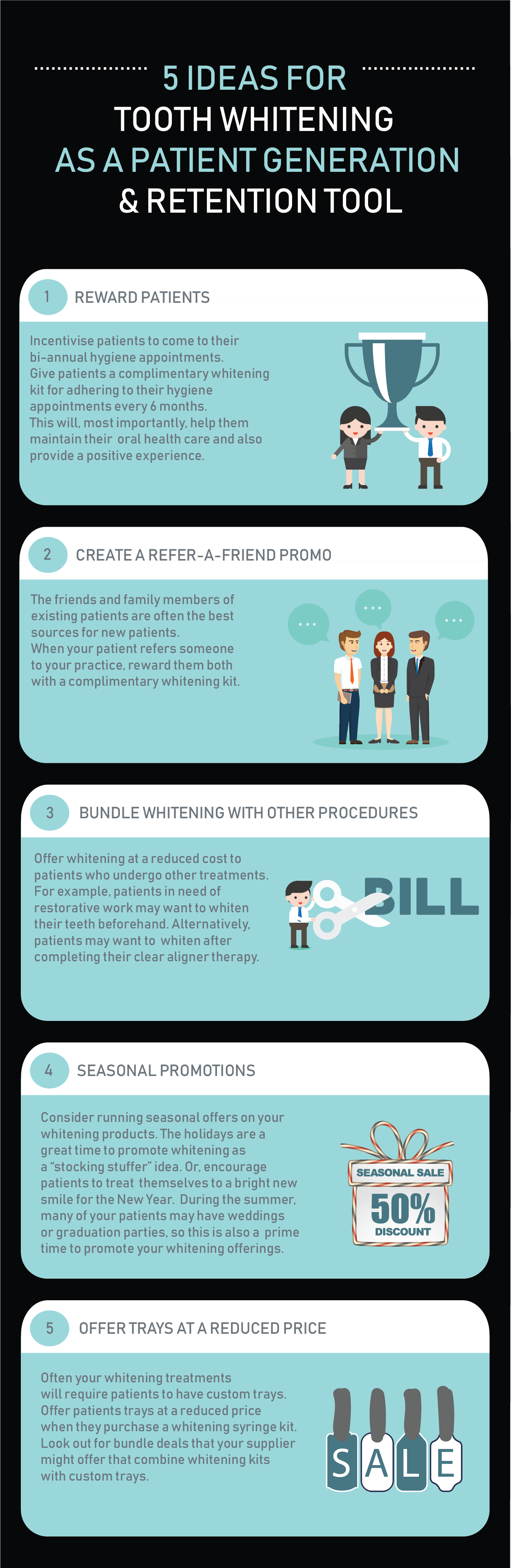 WDB Infographic - 5 ideas for patient retention